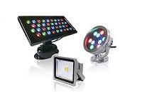 Прожекторы, светильники, лампы и трилайты